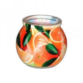 Świeca zapachowa w szkle Pomarańcza 85g Admit
