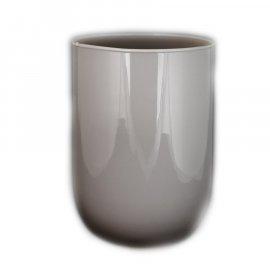 Wazon szklany szary 20 cm Bona Florina
