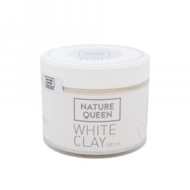 Glinka biała kaolinite White clay 100ml Nature Queen