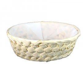 Koszyk Palma okrągły z wyściółką 23 cm Domotti