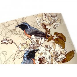 Mata stołowa Ptaki PP 43,5 x 28 cm