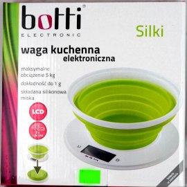 Waga kuchenna elektroniczna 5kg Botti z silikonową miską