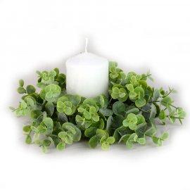 Wianek zielony bukszpan 18 cm Wielkanoc