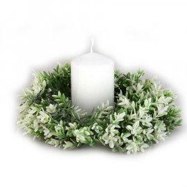 Wianek zielony bukszpan 20 cm Wielkanoc