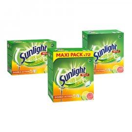 Tabletki do zmywarki ALL IN 1 Citrus Frsh Sunlight 72 tab.