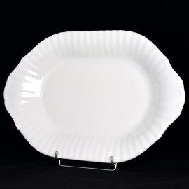 Półmisek 39 cm Biały Iwona Chodzież