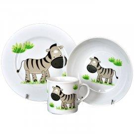 Garnitur dziecięcy 3el. Zebra 5137 Lubiana