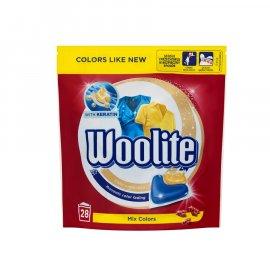 Kapsułki do prania kolorów Woolite Perła 28