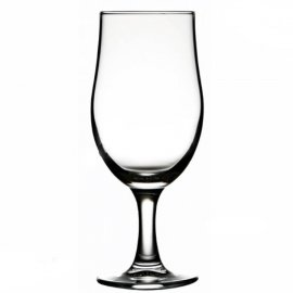 Szklanka do piwa lub napojów na nóżce 380ml Draft Pasabahce