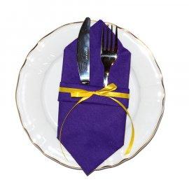 Serweta składana serwetki Chrzciny Komunia Urodziny Wesele