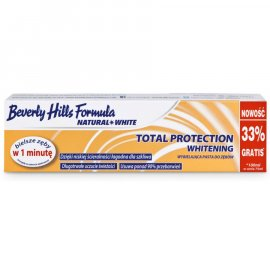 Pasta do zębów Beverly Hills Formula NATURAL WHITE TOTAL PROTECTION