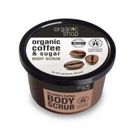 Peeling do ciała Organic shop Brazylijska Kawa 250