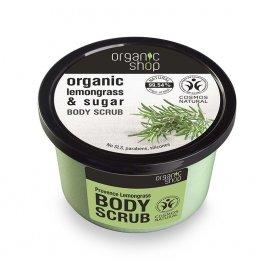 Peeling do ciała Organic shop Trawa Cytrynowa 250