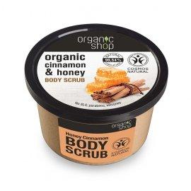 Peeling do ciała Organic shop Cynamon i Miód 250