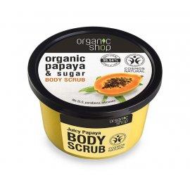 Peeling do ciała Organic shop Soczysta Papaja 250