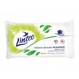 Chusteczki nawilżane Linteo do czyszczenia kuchni, 40 sztuk