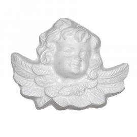 Aniołek główka gipsowa figurka 11,5 cm