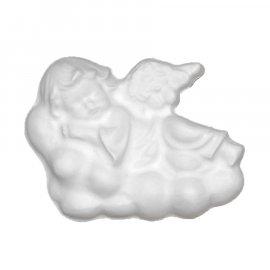 Aniołek na chmurce gipsowa figurka 10 cm