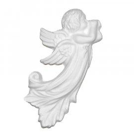 Aniołek gipsowa figurka 15,5 cm