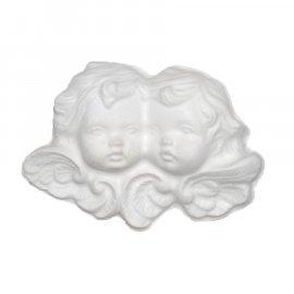 Aniołki główki gipsowa figurka 11 cm