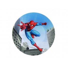 Talerz szklany deserowy 20 cm Spiderman Luminarc