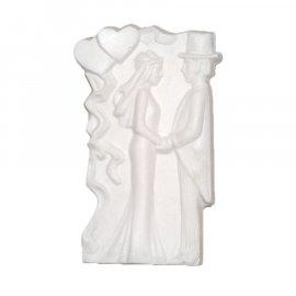 Para Młoda Ślub gipsowa figurka 10 cm