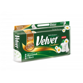 Papier toaletowy Velvet Rumianek i Aloes Excellence 8 rolek