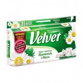 Papier toaletowy Rumianek i Aloes Velvet 8 rolek