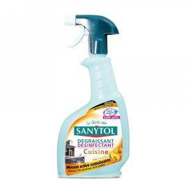 Dezynfekuje czyści KUCHNIA spray SANYTOL
