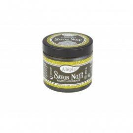 Czarne mydło peelingujące Savon Noir Supreme Alepia 200