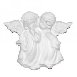 Aniołki gipsowa figurka 12,5 cm