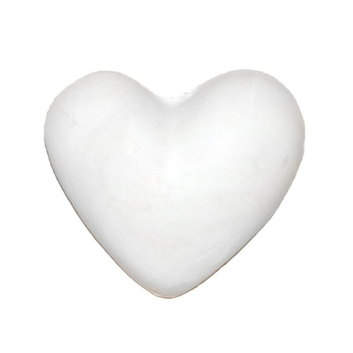 Serce - gipsowa figurka 6 cm