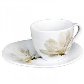 Filiżanka/Spodek 200 Avocado 6474 Magnolia Lubiana