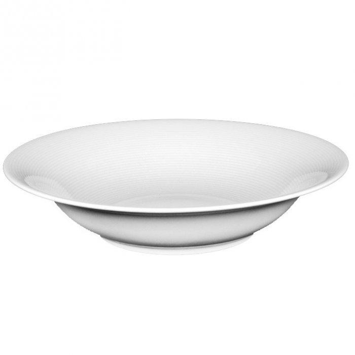 Porcelanowy talerz głęboki z serii Tiago