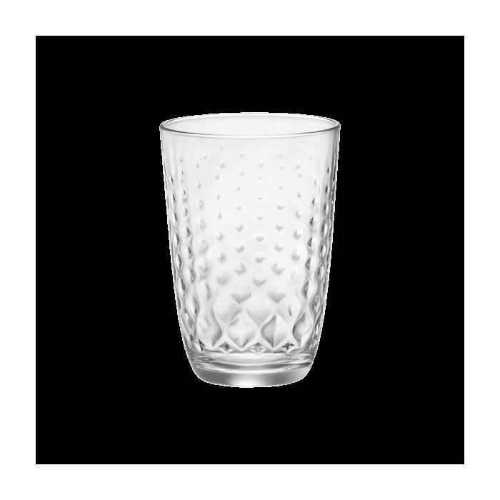 Kpl. 6 szklanek Glit 400ml Bormioli Rocco