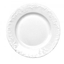 Talerz płytki biały 19cm Rococo Ćmielów III