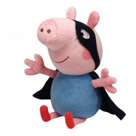 Maskotka 18 cm George Super Hero Świnka Peppa Pig TY