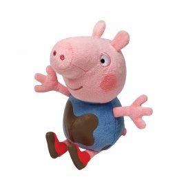 Maskotka 18 cm George Muddy Świnka Peppa Pig TY