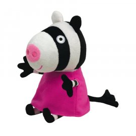 Maskotka 18 cm Zoe Zebra Świnka Peppa Pig TY