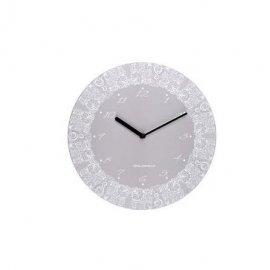 Zegar ścienny 31cm szary Bona Florina