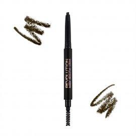 Kredka do brwi Duo Brown Pencil Medium Brown Makeup Revolution