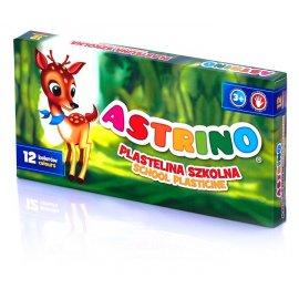 Plastelina szkolna Astrino 12 kolorów Astra