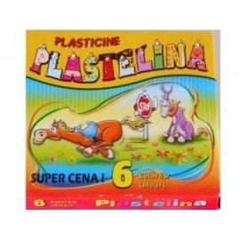 Plastelina z woskiem pszczelim ekologiczna 6 kolorów