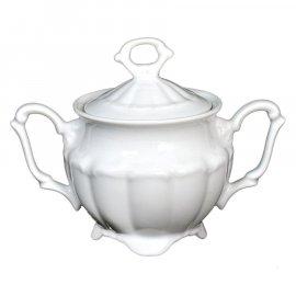 Porcelanowa elegancka cukiernica z serii Maria Teresa.
