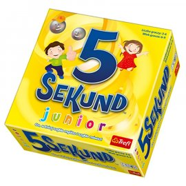 5 Sekund Junior Gra Trefl 6+