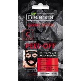 CARBO DETOX Oczyszczająca maska węglowa PEEL–OFF Bielenda