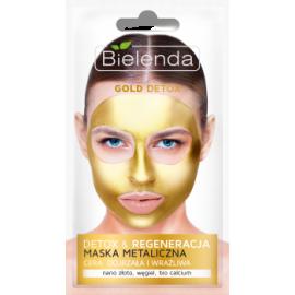 GOLD DETOX Detoksykująca maska metaliczna regeneruje Bielenda