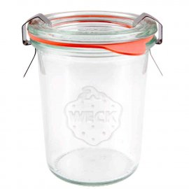 Słoik 160ml Niski szklany dekoracyjny Weck 760