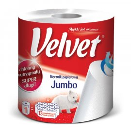 Ręcznik papierowy kuchenny Jumbo Velvet