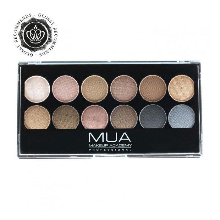 Eyeshadow Palette Paleta 12 Cieni Do Powiek Undressed MUA